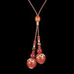 Kaelakee - Punane karneool