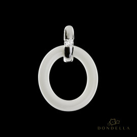 Dondella ceramic jewelry and pendants, sterling silver jewellery and sterling silver pendants. Fashion pendants for women.