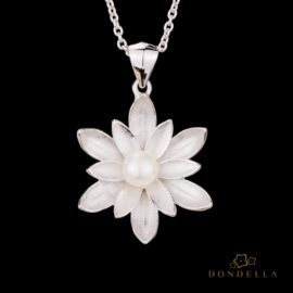 Dondella jewelry and pendant, sterling silver jewellery and handcrafted pendant, Freshwater Pearl. Great gift idea.