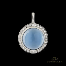 Dondella jewelry and pendants, sterling silver jewellery and sterling silver pendants and Cat's Eye. Fashion pendants for women.