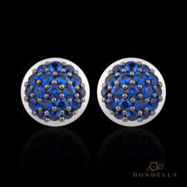 Dondella jewelry and earrings, sterling silver jewellery and sterling silver earrings  and nanogems. Fashion earrings for women.