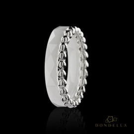 Dondella cerami jewelry and rings, sterling silver jewellery and  sterling silver rings. Fashion rings for women.