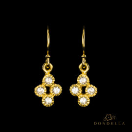 Dondella jewelry and earrings, sterling silver jewellery and sterling silver earrings. Fashion earrings for women.