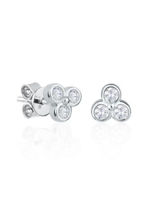Dondella sterling silver earrings