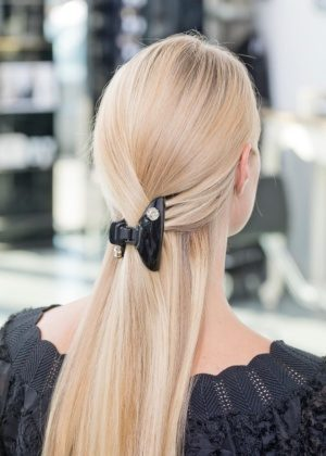 Dondella high quality hair clip with crystals - perfect for thick hair