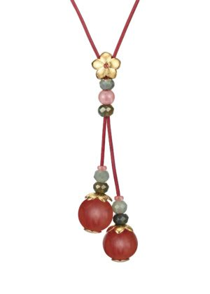Dondella necklace with semi precious stones